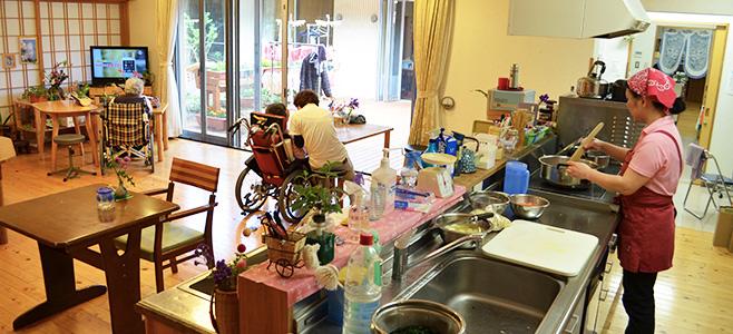 龍生園の特別養護老人ホーム